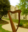 Ramona's Celtic Harp at Whitstable Castle
