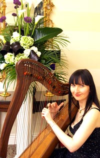 Ramona Egle - Celtic Harp for weddings